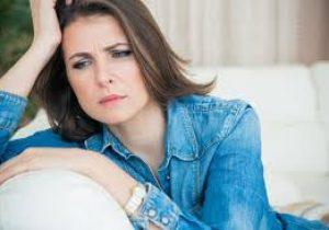 upset woman 45